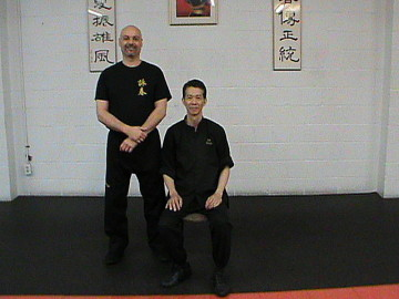 Master Sam Hing Fai Chan and Sifu Jaf